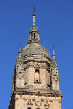 Dome of Salamanca old cathedral. Romanesque style. poster