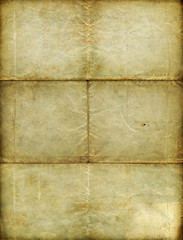 Vintage blank paper - grungy surface - XXL size