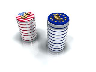 Valeur des Devises euro dollar
