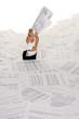 Streß durch Bürokratie und Papier Ablage