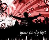 Fototapety party flyer