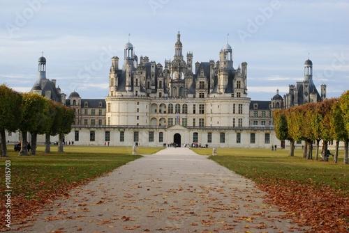 Poster chateau de Chambord