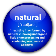 """Natural"" definition button"
