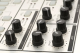 Knobs on Electronic Instrument poster