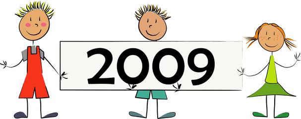 enfant grand panneau 2009