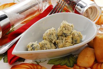 Praline al gorgonzola - Antipasti - Cucina della Lombardia