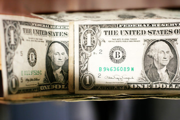 old paper bills