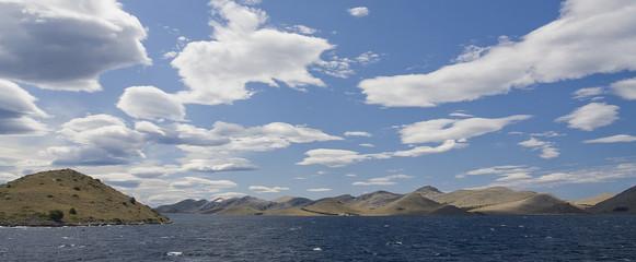 Islas Kornati, Croacia.Panorama