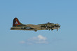 B-17 At Airshow, Loud and Low
