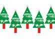 christmas. felicitacion arboles de navidad