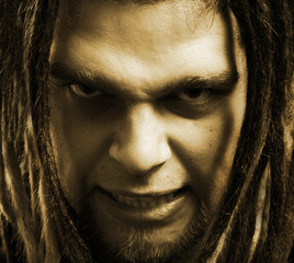 Evil man.