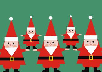 christmas santa claus. papa noel en navidad