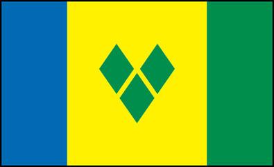 St Vincent flag