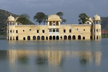 Water Palace (Jal Mahal) Jaipur, Rajasthan, India.