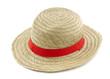 Sombrero antillano hecho de palma