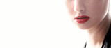 Sensual lips poster