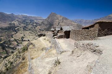 Pisac ruins - Terraced Landscape Sacred Valley - Best of Peru
