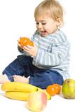 fruit légume manger nourir alimentation nutrition équilibré vita poster