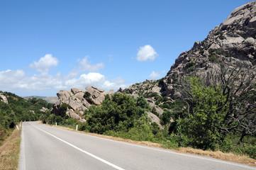 strada in Sardegna