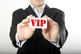 vip carte visite accès contact badge iimportant relation personn