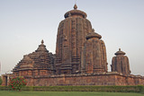 Brahmesvara Hindu Temple in Orissa, India poster