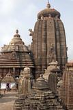 Lingaraja Hindu Temple complex. Orissa, India poster