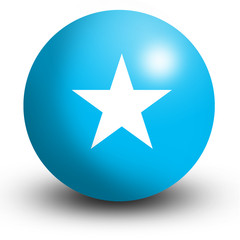 somalia flag orb Button Icon