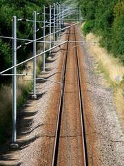 Voix de chemin de fer - rail