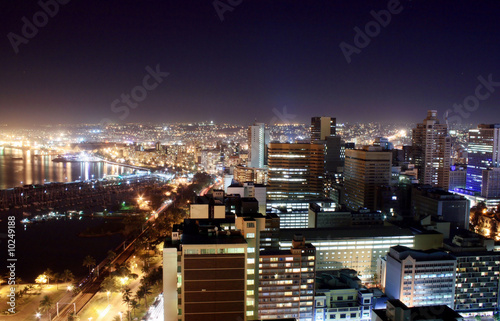 harbor city night