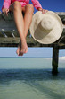 Mujer en el Muelle
