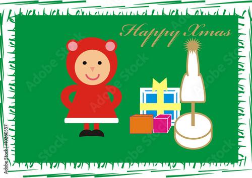 navidad felicitacion retro. christmas card vintage