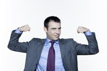 powerful business man