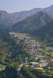 Image of Yamadera Valley, Miyagi, Japan. poster