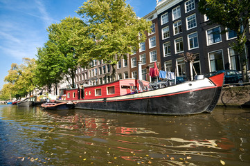 Famous Amsterdam canals