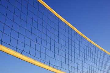 beach volleyball net