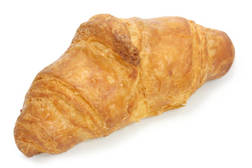 croissant on a white background