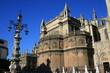 Cathédrale santa maria de sueda et la giralda à Séville