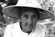 portrait de grand mère thailandaise