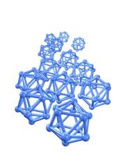 3d image, conceptual nano technology, nano particle