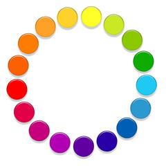 Pastilles colorées
