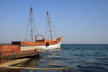 Black Sea, Boat, Crimea, Ukraine
