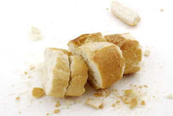 Mendrugos de pan