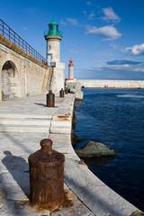 Hafenmole von Bastia