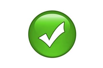 Aqua Button Check