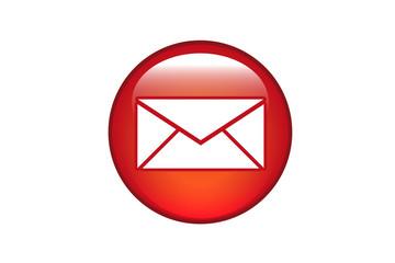 Aqua Button E-Mail
