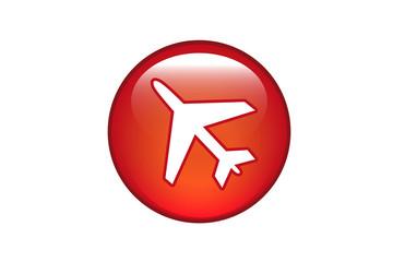 Aqua Button Flugzeug