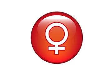 Aqua Button Weiblich
