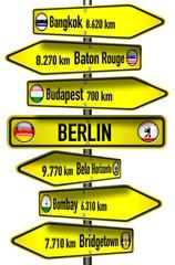 """Wegweiser: Berlin und die Welt mit """"B"""""""