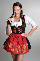 Smiling German Girl