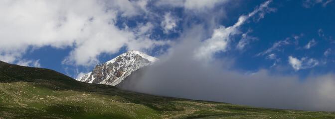 Pass Ozerny, Zailiysky Alatau gorge, Tien-Shan
